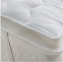 Microfiber Mattress Topper Small Double Bed Size
