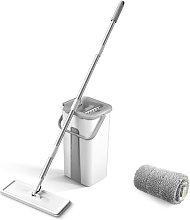 Microfiber Mop with Bucket Floor Cleaning Squeeze