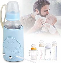 Microfiber PU Material, USB Baby Bottle Warmer,