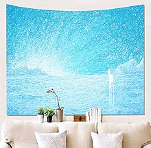 Microfiber Washed Tapestry Festive Wall Decoration