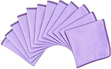 Microfibre Cleaning Cloths Lint Free Window Glass