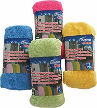 Microfibre Cleaning Sponge, Pack of 8 Assorted