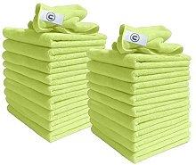 Microfibre Cloths - Pack of 20 Cloths - Large 40cm