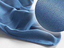 Microfibre Glass Cloth 80X60 (5pack Blue) Glass,