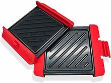 Microwavable Grill Portable Sandwich Maker Panini