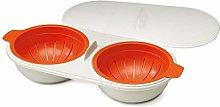 Microwave Egg Poacher Food Grade Cookware Double