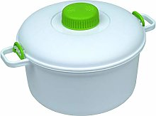 Microwave it Pressure Cooker, White, 27 x 21 x 15