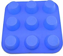 Microwave Oven Dedicated 9-Hole Cake Mold, Egg