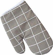 Microwave Oven Gloves 1Pcs Simple Lattice Cotton