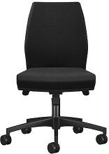 Mid Back Desk Chair Symple Stuff Colour