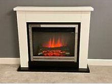 Middleton Electric Fireplace Fire Heater Heating