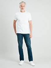 Midwash Blue Denim Slim Fit Jeans With Stretch -