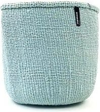 mifuko - Light Blue Basket Medium