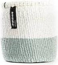 mifuko - White Light Green Basket Xsmall
