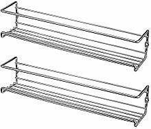 Migaven 2PCS Spice Storage Rack Single-Tier