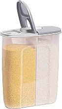 MIGUOR 2 in 1 Cereal Storage Container with Lids,