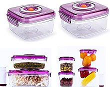 MIGUOR (2pcs) Microwave Food Steamer with