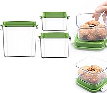 MIGUOR (3PCS) Microwave Food Steamer with