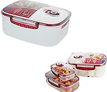 MIGUOR Microwave Food Steamer with Removable