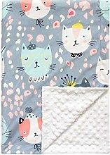 MIGUOR Super Soft baby Blanket, Cute Unisex Baby