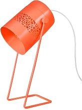 Mikhail 33cm Desk Lamp Mercury Row Finish: Orange