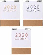 MIKI-Z Simple Desktop Standing Paper 2020 Double