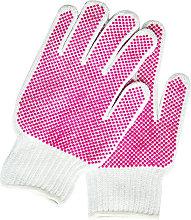 Mikki Cotton Dog Grooming Glove (One Size) (Red) -