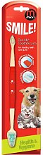 Mikki Double Toothbrush (One Size) (Red) -