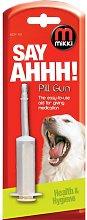 Mikki Pill Gun (One Size) (White) - Interpet