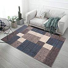 MIKUAP Area Rug Living Room Carpet Pastel Colors -