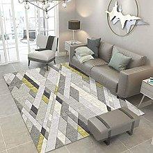 MIKUAP Area Rug Shaggy Shaggy Carpet Design - Sofa