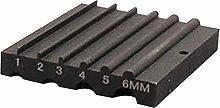 Milageto 50x45x8.5mm Sandpaper Edge Beveler