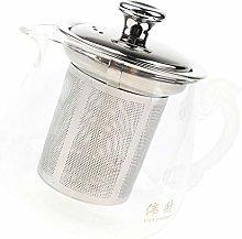 Milageto -Resistant Glass Thick Tea Pot Filter