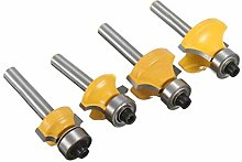 Milageto Round Over Cutter Router Bit Edging TCT