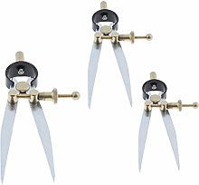 Milageto Set of 3PCS Spring Dividers Calipers