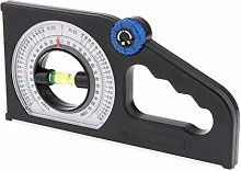 Milageto Slope Inclinometer Angle Finder Protractor