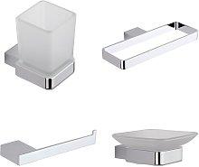 Milano Arvo - Modern 4 Piece Bathroom Accessory