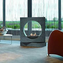 Milano Free Standing Bio Fireplace from Xaralyn