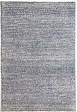 Milano Wool Rug Blue 0.8m x 1.5m (2ft6 x 5ft