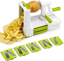 MILCEA 5 - Blade Spiralizer, Best Spiral Vegetable