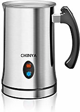 Milk Frother,CHINYA Electric Milk Frother with Hot