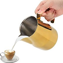 Milk Frother Cup,20 Oz (550 Ml) Milk Jug Stainless
