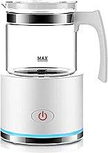 Milk Frother, Detachable Coffee Milk Heater,