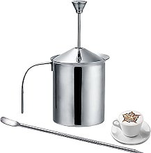 Milk Frother Stainless Steel Double Mesh Milk