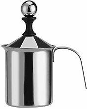 Milk Frother - Stainless Steel Manual Milk Frother