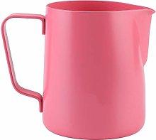 Milk Frothing Cup, 350ml Stainless Steel Milk