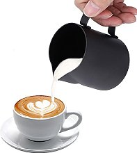 Milk Frothing Pitcher, 12oz Milk Frother Cup