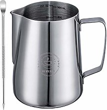 Milk Frothing Pitcher 32oz,Espresso Steaming