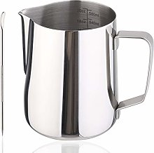 Milk Jug 600ml/20 OZ Stainless Steel Milk Frother