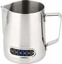 Milk Jugs Coffee Frothing Pitcher with Thermometer
